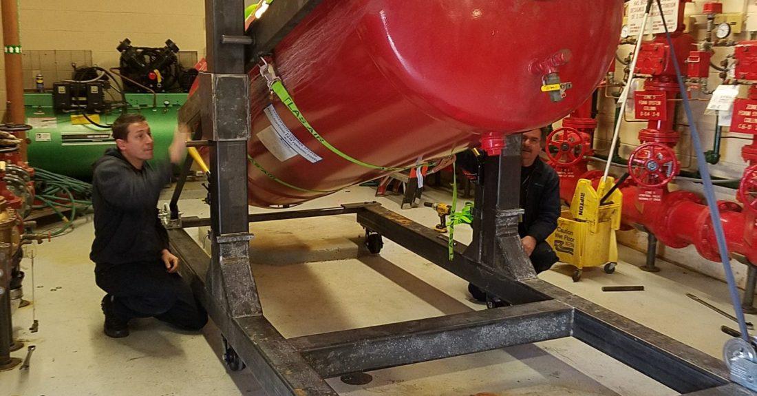 Bladder tank Filling Repairs Bladder Replacement