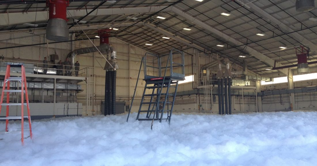 New Foam System Commissioning